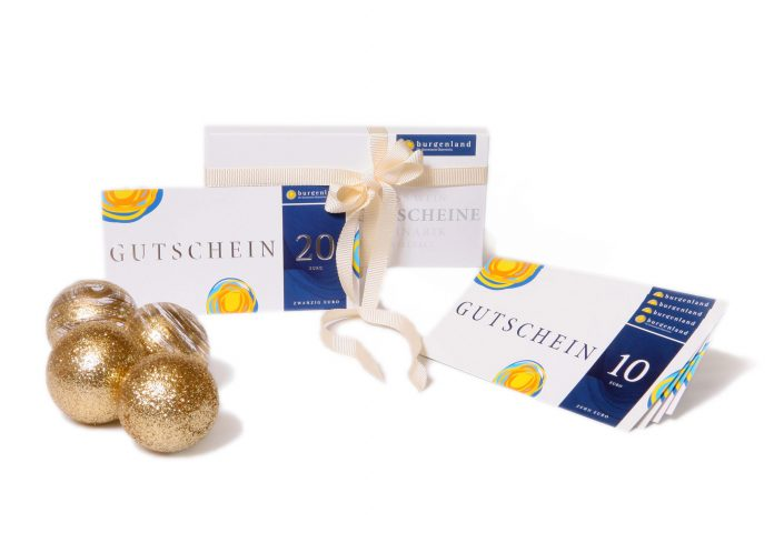 Jetzt schon an Weihnachten denken und Burgenland Gutscheine verschenken (Bildquelle: Burgenland Tourismus/Lexi)