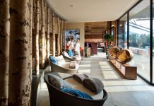 Blick in die SkyLounge des Hotels Royal in Bad Ischl (Bildquelle: Andreas Maringer/EurothermenResorts)