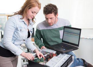 Die HTL und FH St. Pölten verstärken die Zusammenarbeit in der Ausbildung von IT-Security-Fachkräften (Bildquelle: Martin Lifka Photography)