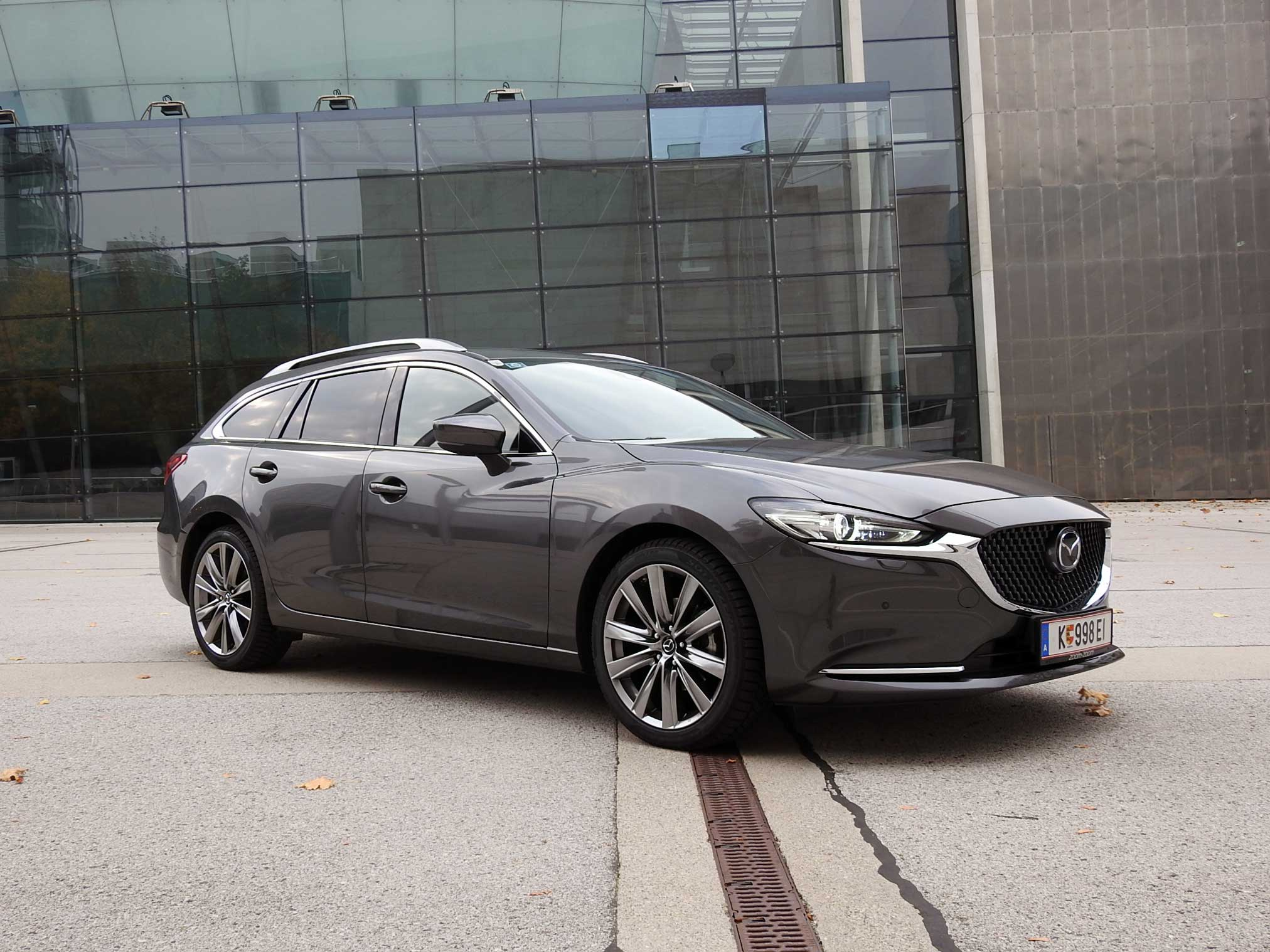 eleganter sport combi der neue mazda 6 im test guten. Black Bedroom Furniture Sets. Home Design Ideas