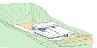 Die Bundesimmobiliengesellschaft investiert im Auftrag des Innenministeriums rund 11 Millionen Euro. Ab Herbst 2020 kann der Trainingsbetrieb starten (Bildquelle: architekt PINEKER ZT)