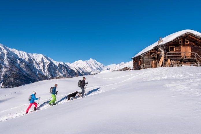 Geführte Schneeschuhwanderung im Nationalpark Hohe Tauern (Bildquelle: Kärnten Werbung / Michael Stabentheiner)
