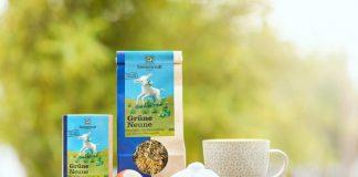 Der neue Grüne Neune Tee von SONNENTOR (Bildquelle: SONNENTOR)