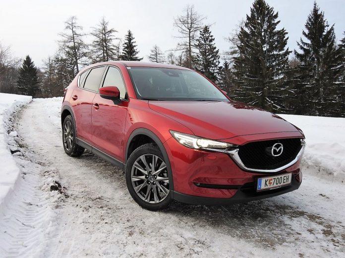 Der Mazda CX-5 AWD im Guten Tag Österreich Autotest (Bildquelle: Thomas Resch)
