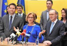 Landesparteiobfrau Johanna Mikl-Leitner präsentiert in St. Pölten die Kandidatinnen und Kandidaten der Volkspartei Niederösterreich zur EU-Wahl 2019 (Bildquelle: Thomas Resch)