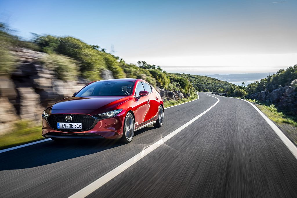Der neue Mazda3 ist das erste Fahrzeug einer komplett neuen Modellgeneration <small> (Bildquelle: Mazda) </small>
