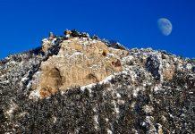 Die Kalksteinfelsen rund um die Ruine Türkensturz (Bildquelle: www.audivision.at)