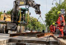 Wiener Linien: Modernisierung von über 8 km Straßenbahngleise