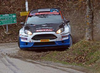 Der Salzburger Hermann Neubauer gewinnt im Ford Fiesta R5 die 8. Auflage der Rebenland Rallye (Bildquelle: Harald Illmer)