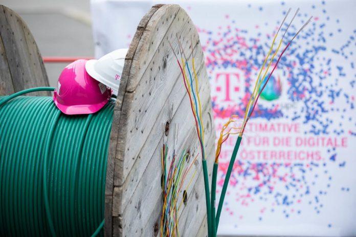 Gigacity Wien: T-Mobile Austria rüstet Glasfaserkabelnetz in ganz Wien auf
