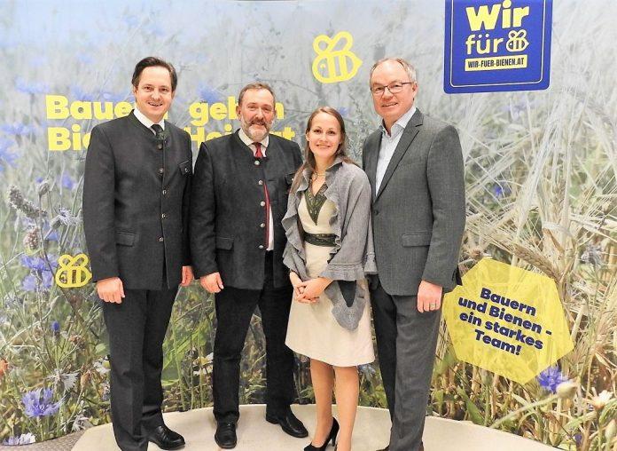"""Kampagne """"Wir für Bienen"""" präsentiert"""