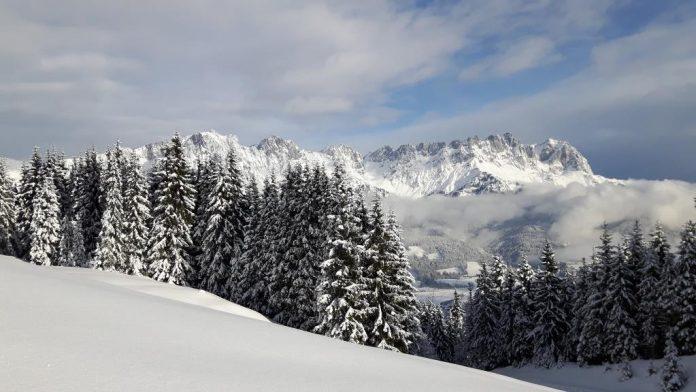 Viel Schnee und viele Gäste am Wilden Kaiser