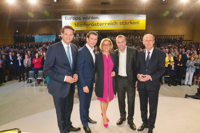 """1.800 Gäste beim """"Blau-gelben Europa Abend"""" in Wieselburg"""