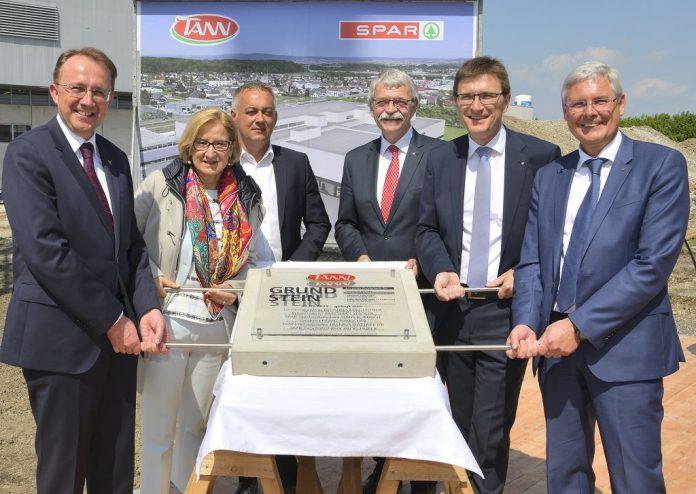 Grundsteinlegung für TANN-Fleischwerk in St. Pölten