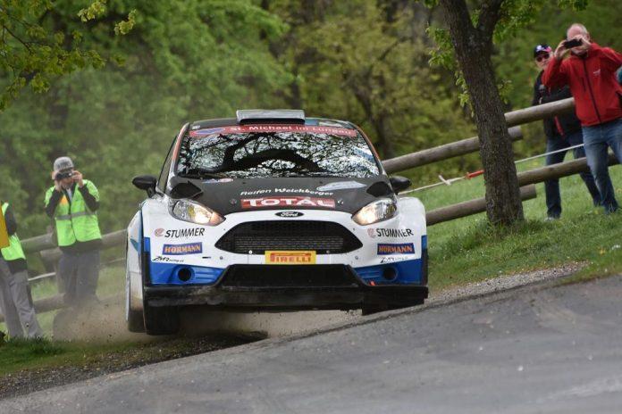 Hermann Neubauer gewinnt die Wechselland Rallye 2019