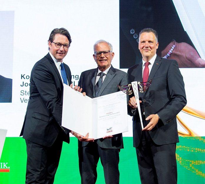 Logistik-Preis: Hermes-Stab ging nach Oberösterreich