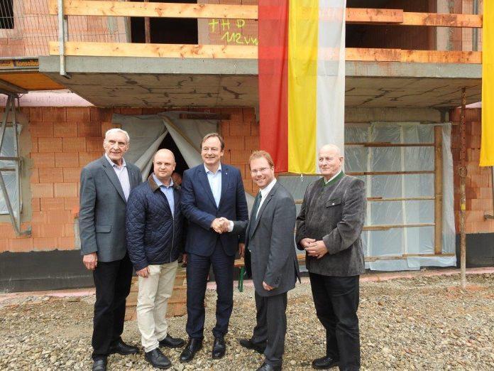 Herzogenburg: Dachgleiche für 22 Wohnungen