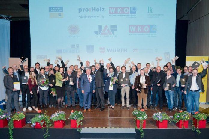 Die Gewinner des NÖ Holzbaupreis 2019 stehen fest