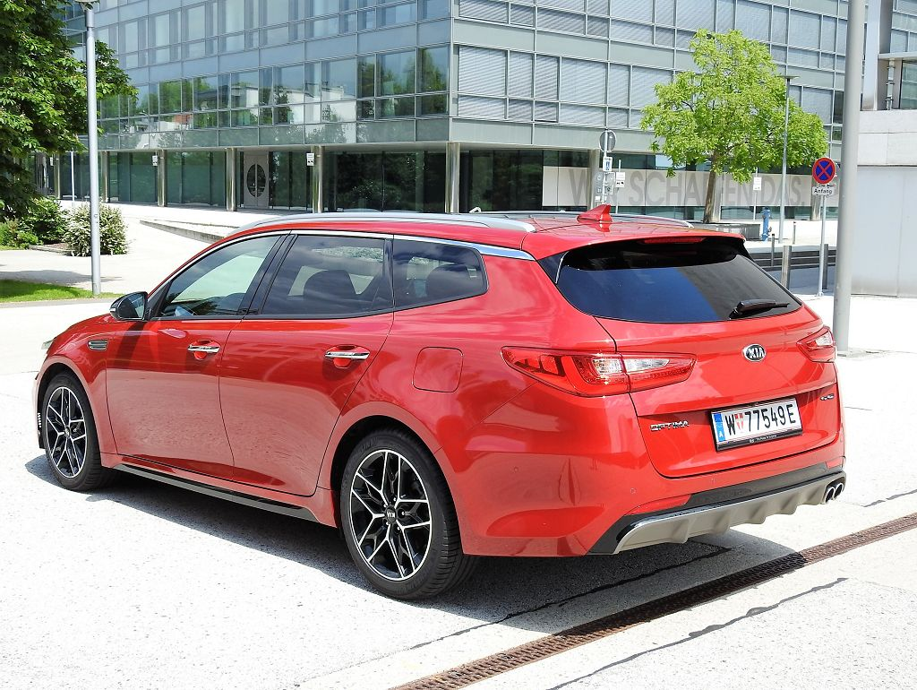 Im Test: Kia Optima SW GT-Line