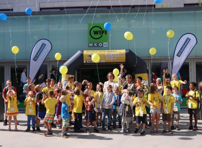 Start der Kinder Business Week in NÖ