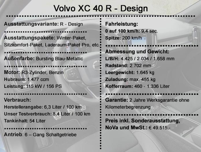 Volvo XC 40 R - Design
