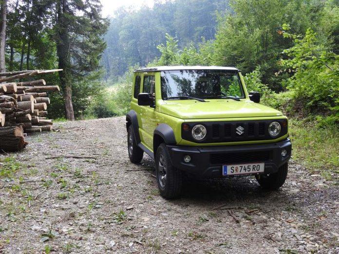 Der neue Suzuki Jimny – ein richtiger Offroader