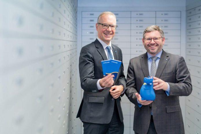 Vorstand Wolfgang Viehauser und Finanzlandesrat Ludwig Schleritzko