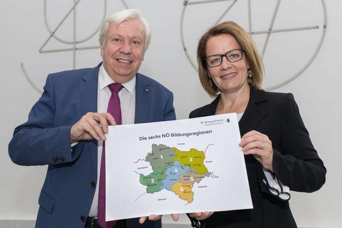 Ab November gibt es in Niederösterreich sechs Bildungsregionen