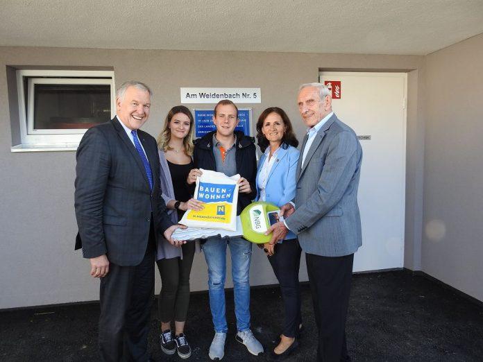 Junges Wohnen in NÖ: Neun neue Mietwohnungen in Groß-Schweinbarth übergeben