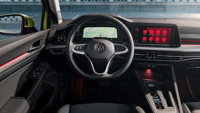 Das digitale Cockpit im neuen VW Golf