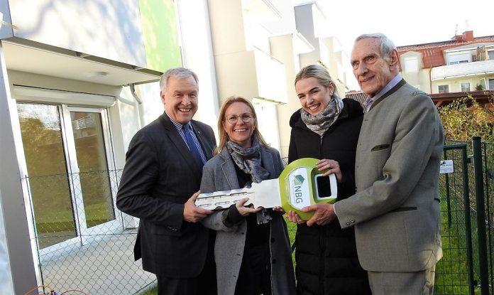Schlüsselübergabe für Junges Wohnen in Oberwaltersdorf