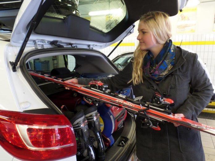 Tipps der ÖAMTC Fahrtechnik-Experten zur korrekten Gepäcksicherung