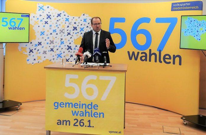 Gemeindewahlen 2020: VPNÖ startet Wahlkampf erst nach den Feiertagen
