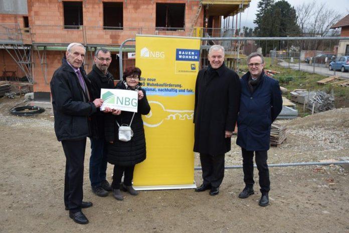 Dachgleiche für NBG Wohnhausanlage in Tulbing gefeiert