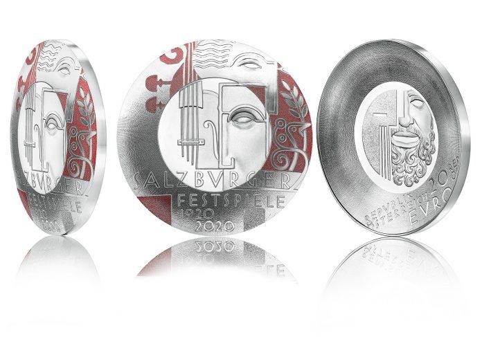 Die Silbermünze