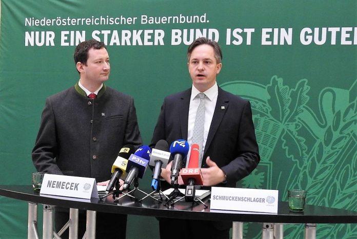 NÖ Bauernbund präsentiert Kandidaten, Kampagne und Programm