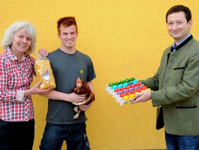 Eier aus der Region fürs Osterfest