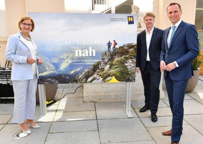 """Tourismuskampagne """"Sommerfrische in Niederösterreich"""" präsentiert"""