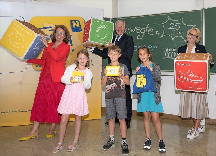 """25 Jahre """"Bewegte Klasse"""" in Niederösterreich"""