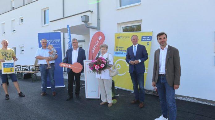 Schlüsselübergabe für Wohnhausanlage in Altlengbach