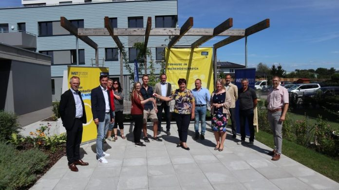 WETgruppe übergibt 14 Wohnungen in Winklarn