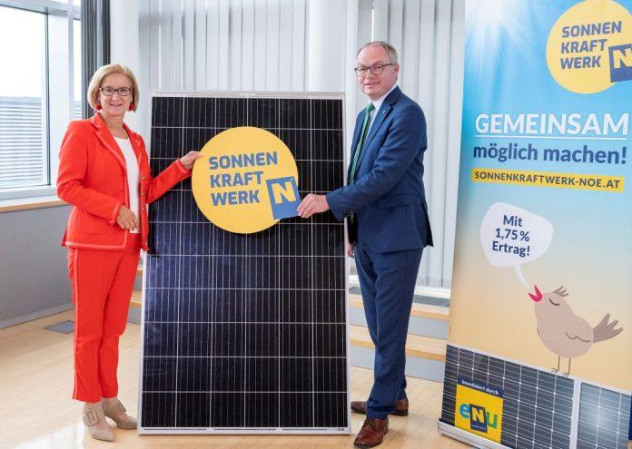 """Bürgerbeteiligung """"Sonnenkraftwerk Niederösterreich"""" präsentiert"""
