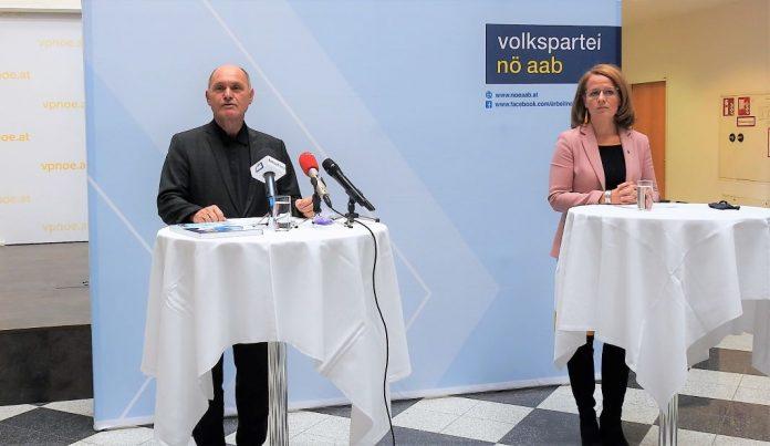 NÖAAB: Sobotka übergibt an Teschl-Hofmeister bei virtuellem Landestag