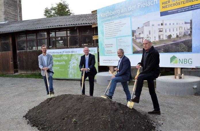 Kirchberg an der Pielach: Spatenstich für neue Wohnhausanlage gesetzt