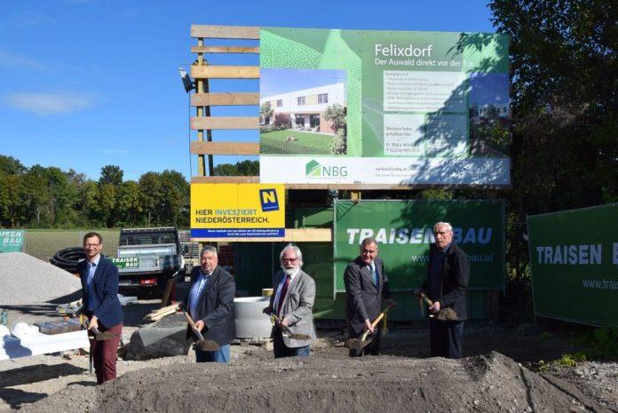 NBG errichtet 10 Reihenhäuser in Felixdorf
