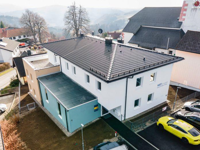Die neue Wohnhausanlager der Gebau-Niobau in Hochneukirchen (Bildquelle: Herz und Auge Fotografie - Stefan Seyfert)