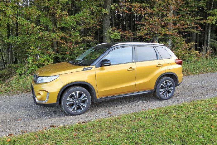 Der Suzuki Vitara 1.4 Hybrid Allgrip im Guten Tag Österreich Autotest (Bildquelle: Thomas Resch)