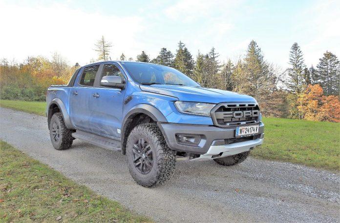 Der Ford Ranger Raptor 2.0 EcoBlue im Guten Tag Österreich Autotest (Bildquelle: Thomas Resch)