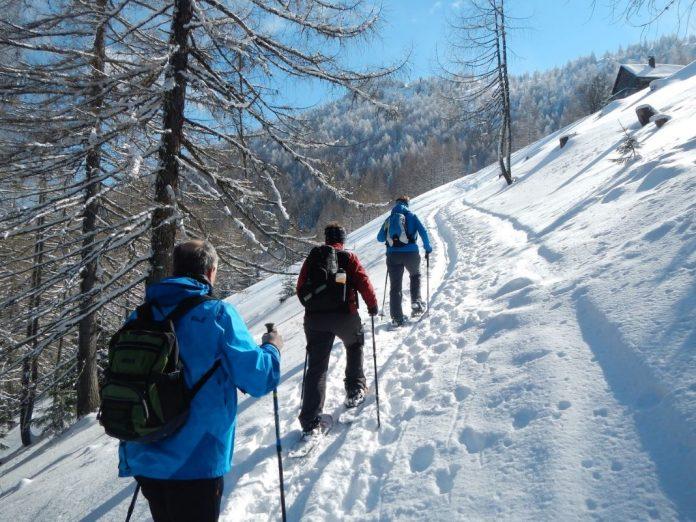 Skilanglaufen und Schneeschuhwandern in den österreichischen Alpen fördert das Wohlbefinden (Bildquelle: Herbert Schöttl)