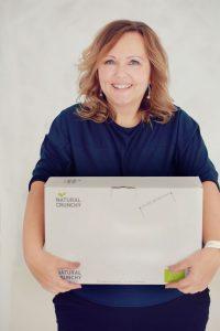 Timea Hipf freut sich über ihre neue Produktlinie (Bildquelle: Edina Finta)